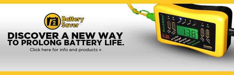 Discover a new way to prolong battery life. Click here for info and products.