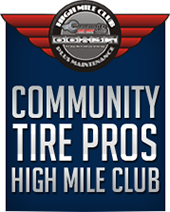 Community Tire Pros High Mile Club