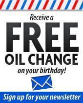 Receive a free oil on your birthday! Sign up for our newsletter.