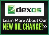 Learn more about our new oil change!