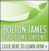 Bolton-James has gone green!