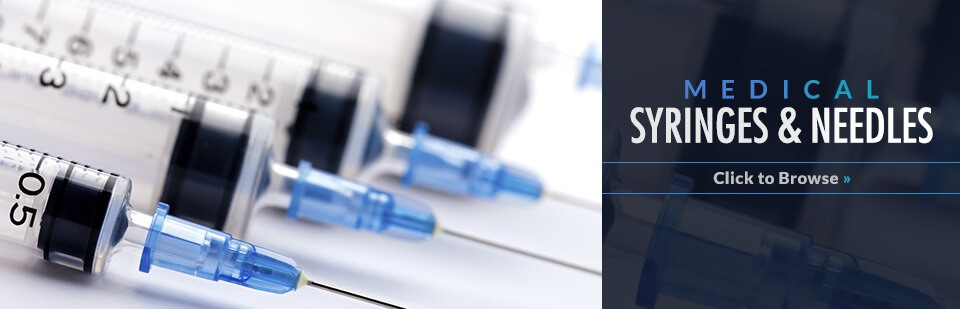 Shop medical syringes and needles with Med on the Net! Click here to browse our products.