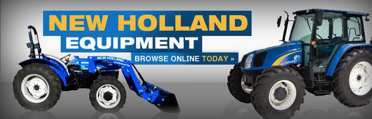 Click here to browse New Holland equipment!