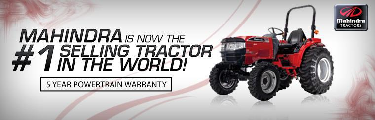 Mahindra is Now The #1 Selling Tractor in the World!