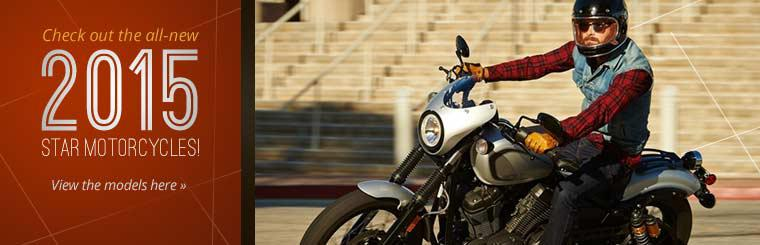 Check out the all-new 2015 Star motorcycles!