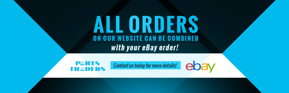 All orders on our website can be combined with your eBay order! Click here to contact us.