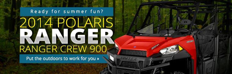 2014 Polaris Ranger Crew 900: Put the outdoors to work for you!