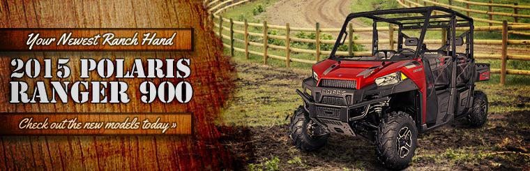 2015 Polaris Ranger 900 is your newest ranch hand. Click here to view the new models.