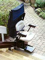 Model SRE-2000E Electra-Ride™ Elite Outdoor Straight Rail Stairlift