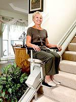 Model SRE-2700 Electra-RideTM LT Indoor Straight-Rail Stairlift