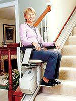 Model SRE-1550 Electra-Ride™ LT Indoor Straight-Rail Stairlift