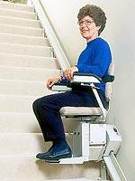 Model SRE-2000 Electra-Ride™ Elite Indoor Straight-Rail Stairlift