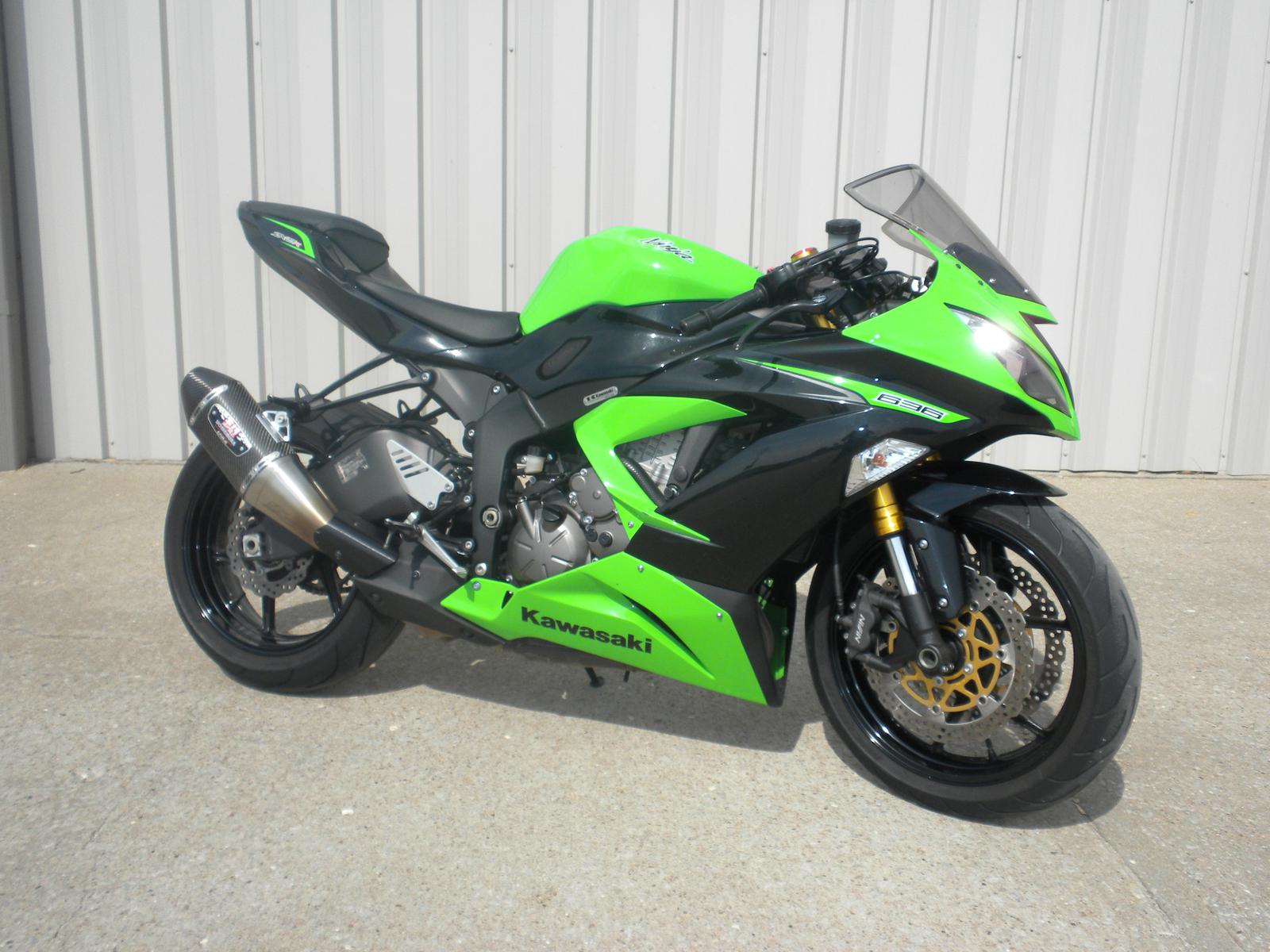 2013 Kawasaki Ninja ZX6R 636 For Sale In Sedalia MO Dicks Cycle