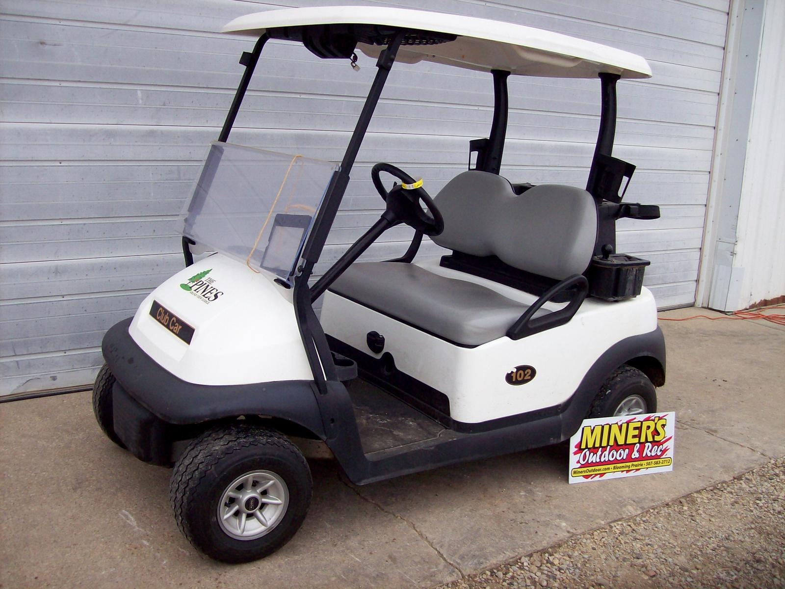 Golf Carts from Club Car Miner's Outdoor & Rec Blooming