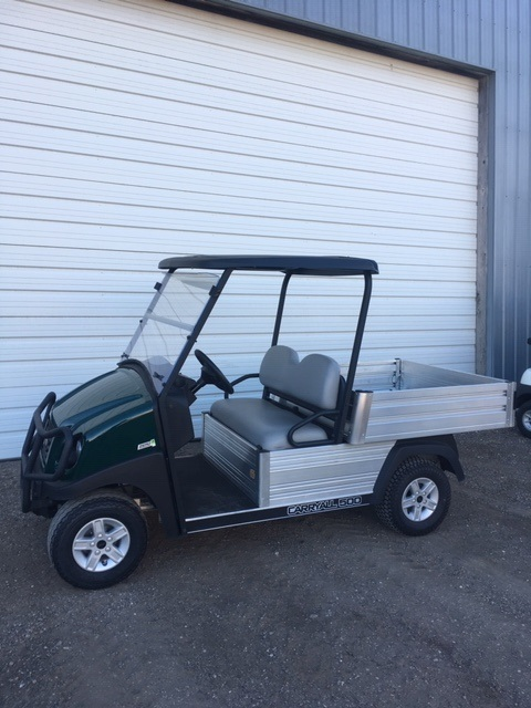 2018 Club Car Carryall 500 Turf Electric For Sale In Blooming