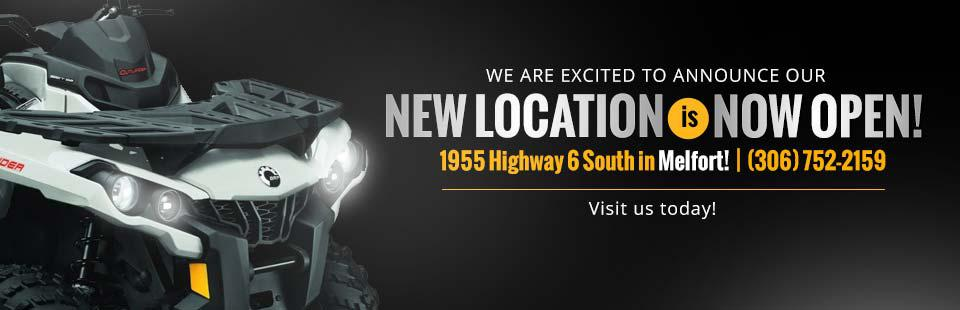 Our new location in Melfort is now open! Visit us today!