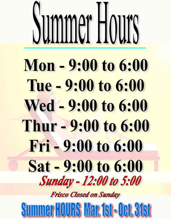Summer hours copy copy