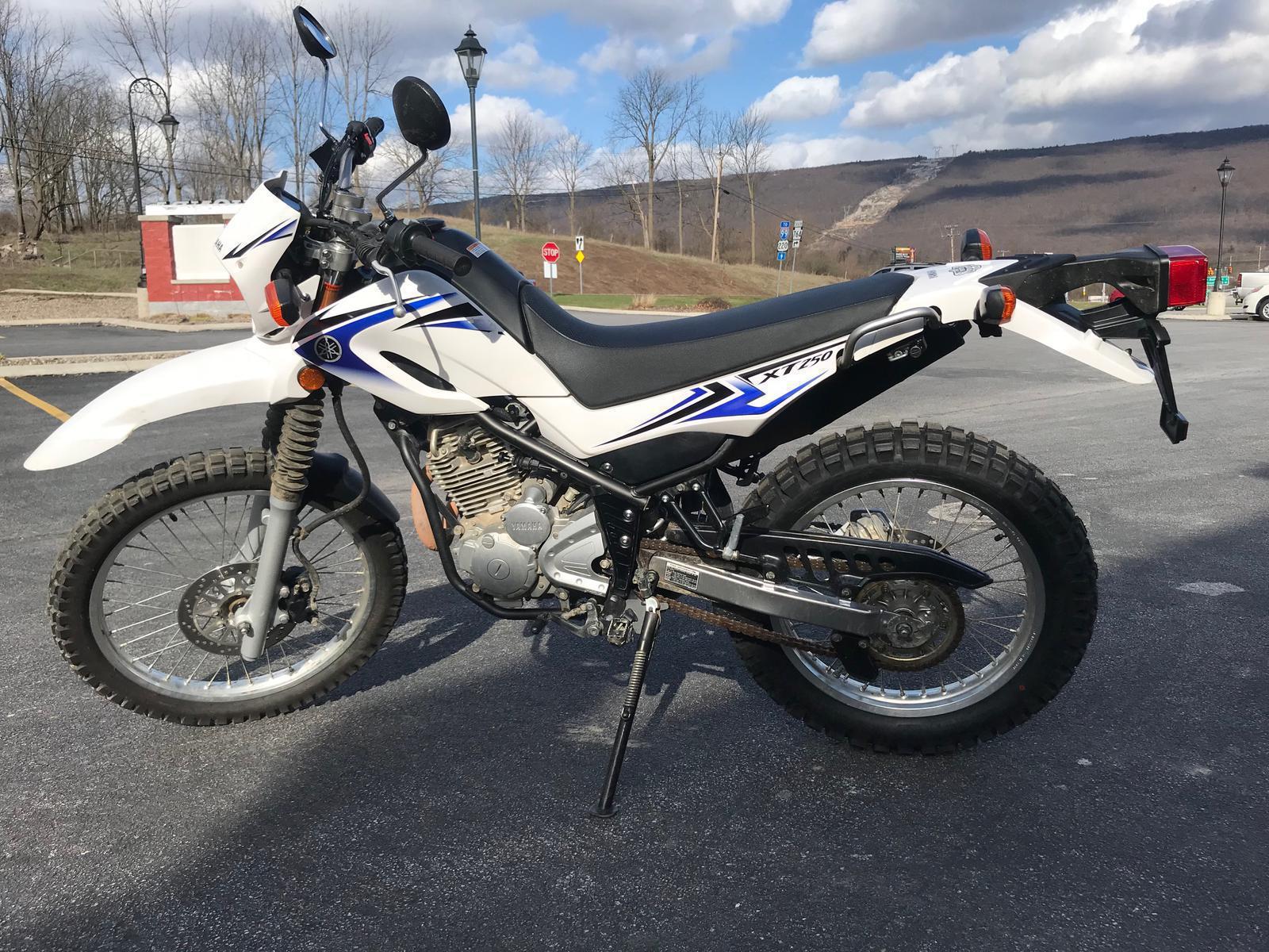 2012 Yamaha XT250 for sale 141179
