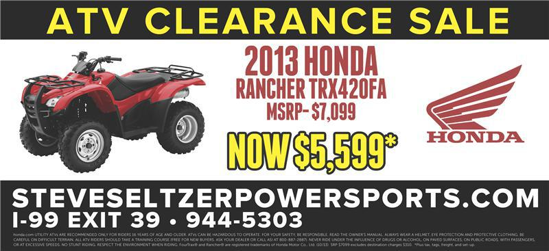 Rancher 2013 Sale Revised