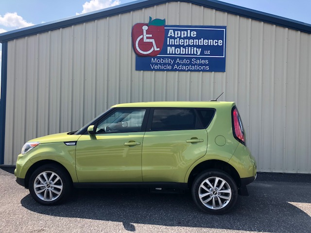 2017 Kia Soul Freedom Manual Rear Entry Le Independence Mobility