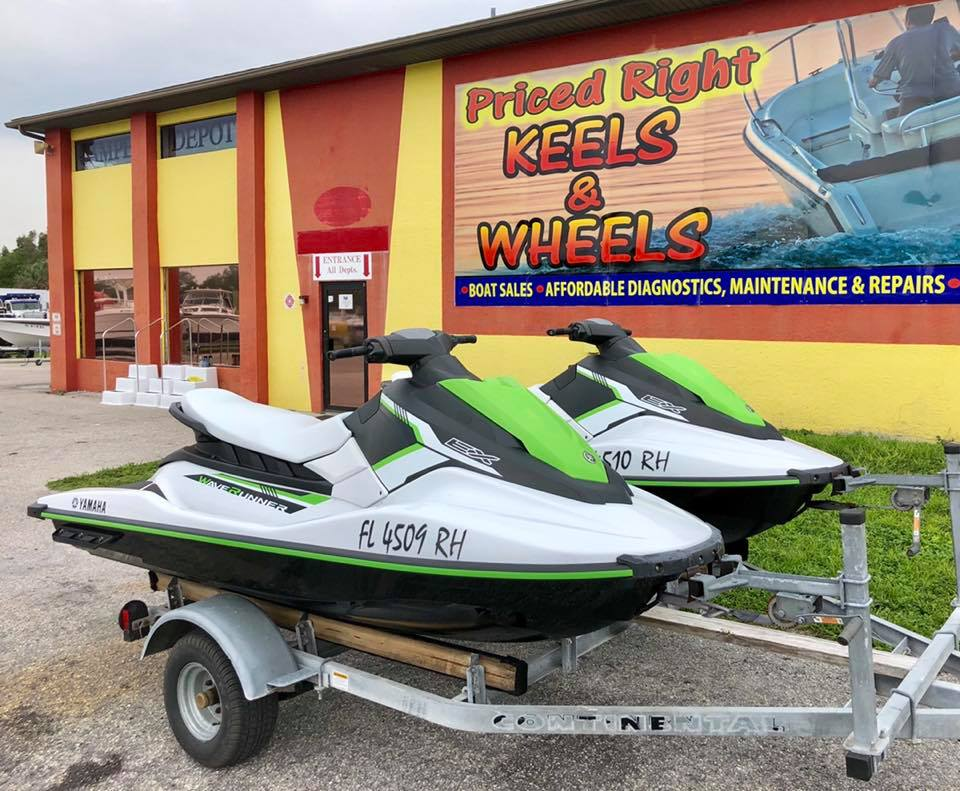 Inventory from Grady-White, Yamaha and Ranger Priced Right Keels and