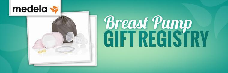 Breast Pump Gift Registry: Click here.
