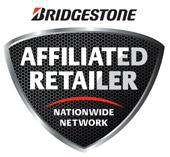 We are a Bridgestone Affiliated Dealer.