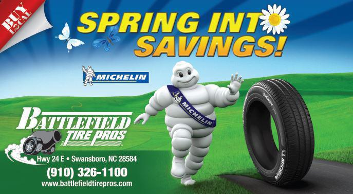 Spring into Savings at Battlefield Tire Pros
