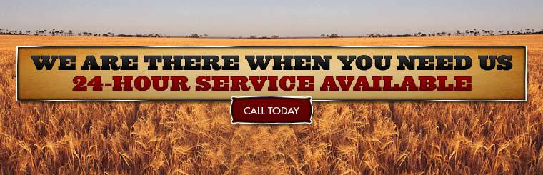 We are there when you need us. 24-Hour Service Available.