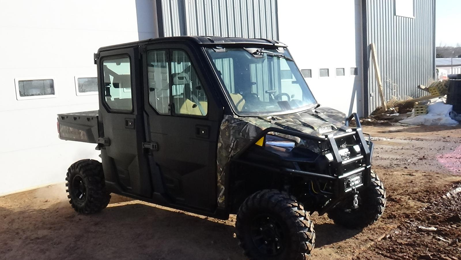 2017 polaris industries ranger xp 1000 camo eps