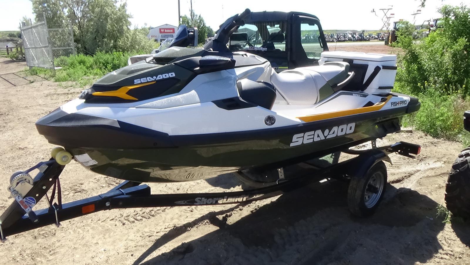 2019 sea-doo fish pro 155 w/ sound system