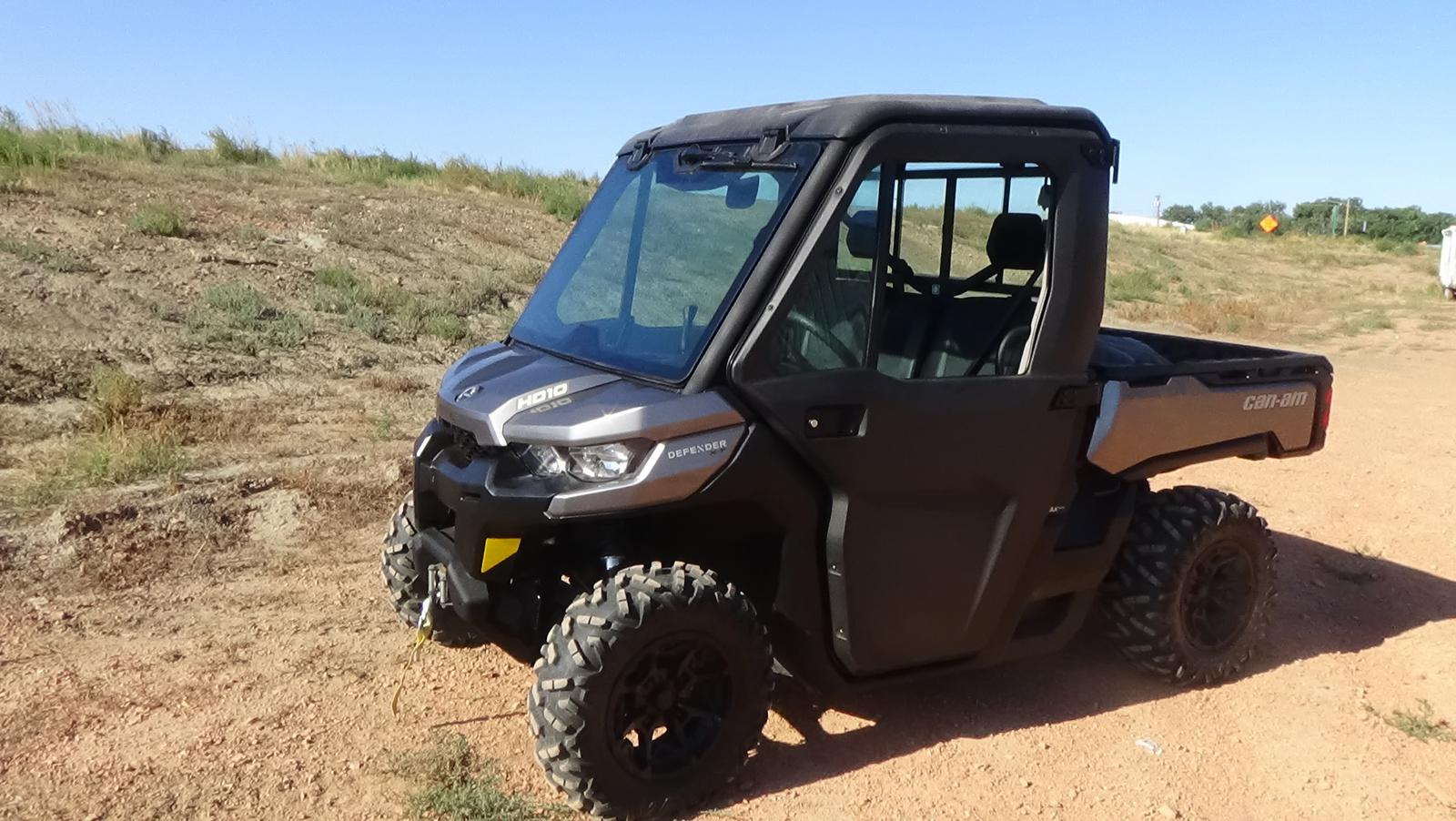 2017 can-am defender max dps hd10- pure magnesium metallic