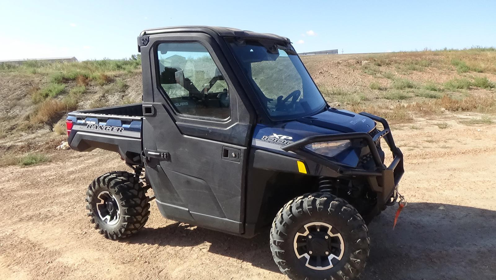 2019 polaris industries ranger xp 1000 eps - steel blue