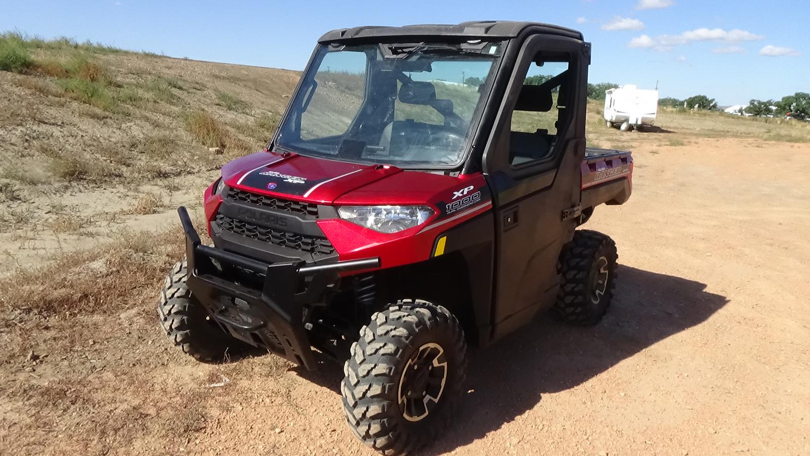 2018 polaris industries ranger xp 1000 eps - sunset red metallic