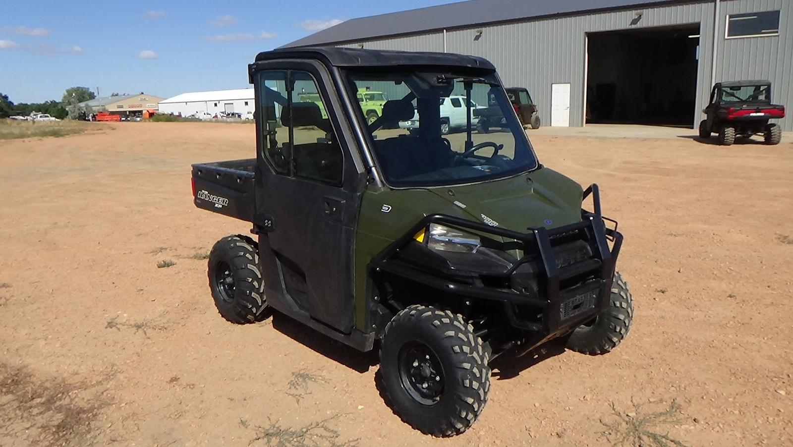 2018 polaris industries polaris- ranger xp 900 eps- sage green