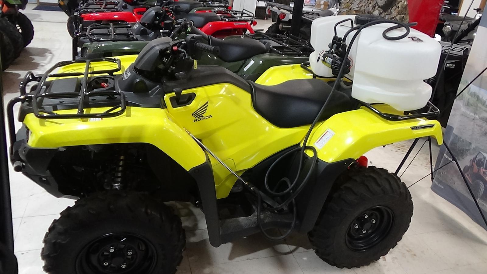 2018 honda fourtrax rancher 4x4 auto dct irs eps