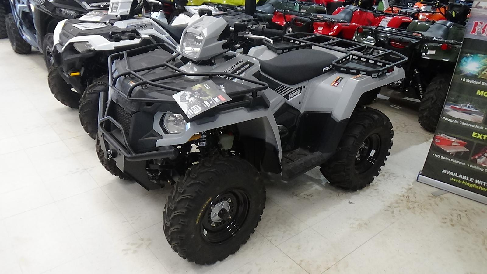 2019 polaris industries sportsman� 570 eps utility edition - ghost gray