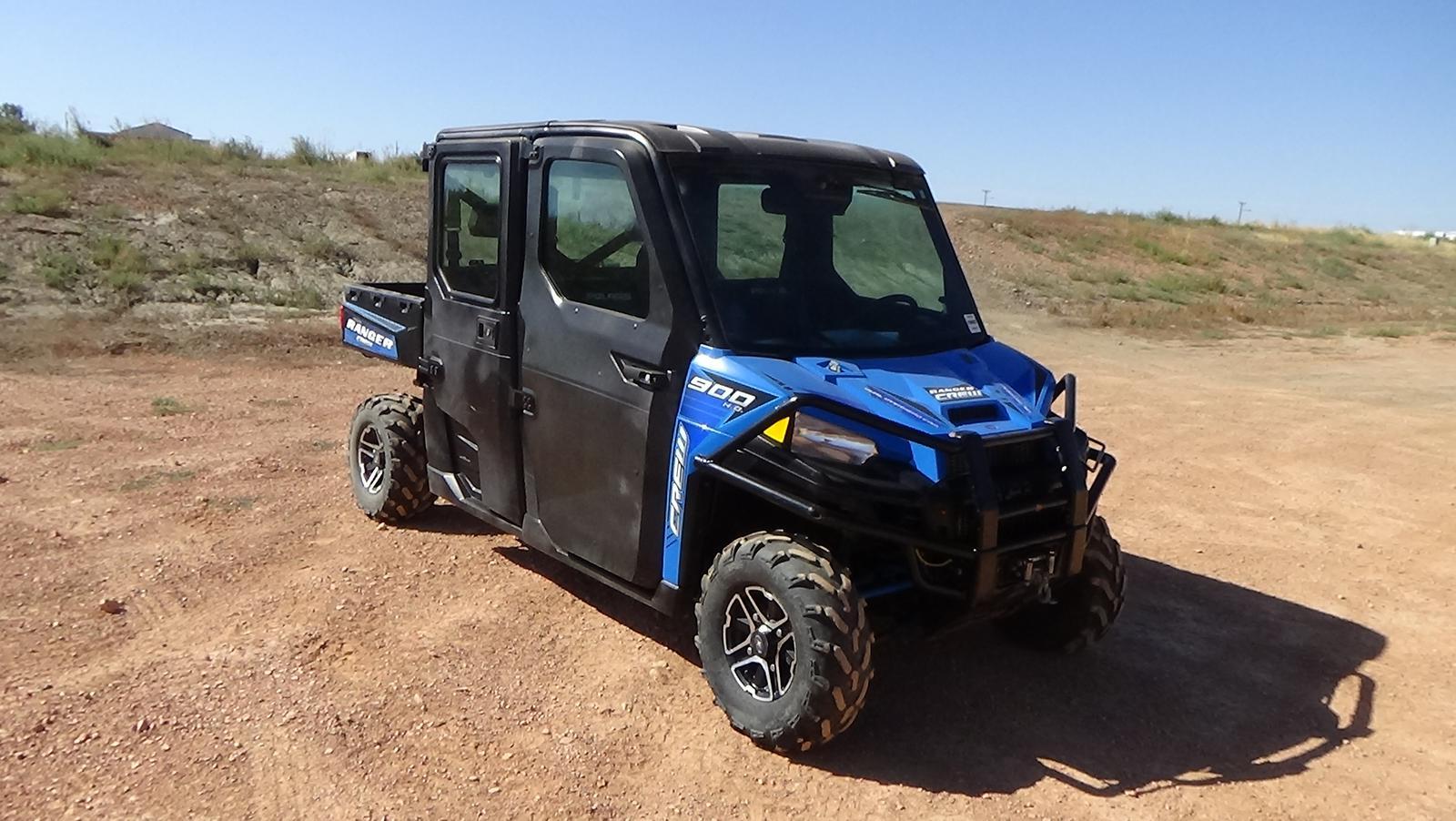 2016 polaris industries ranger crew� xp 900-6 eps - velocity blue