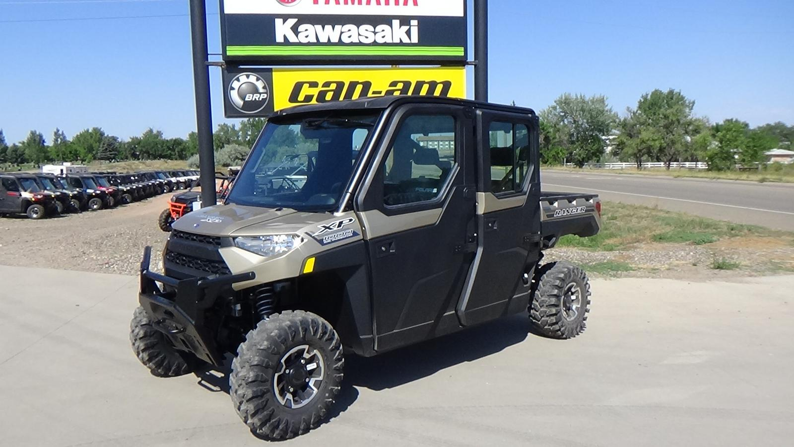 2020 polaris industries ranger crew xp� 1000 eps northstar edition sand metallic