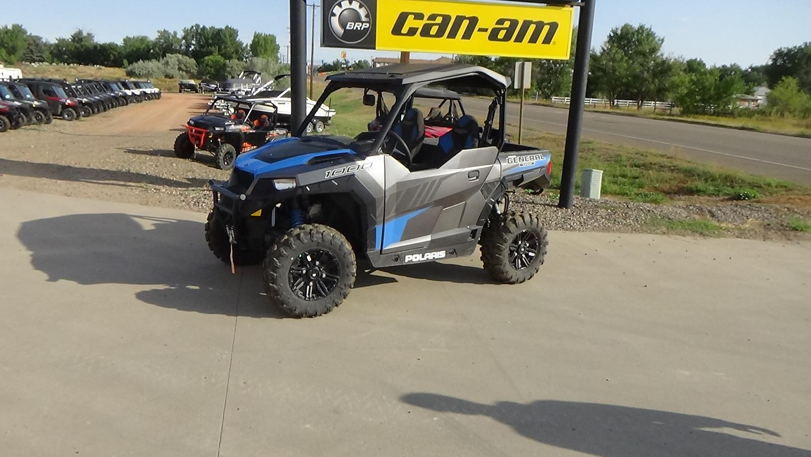 2019 polaris industries polaris general 1000 eps deluxe -titanium metallic