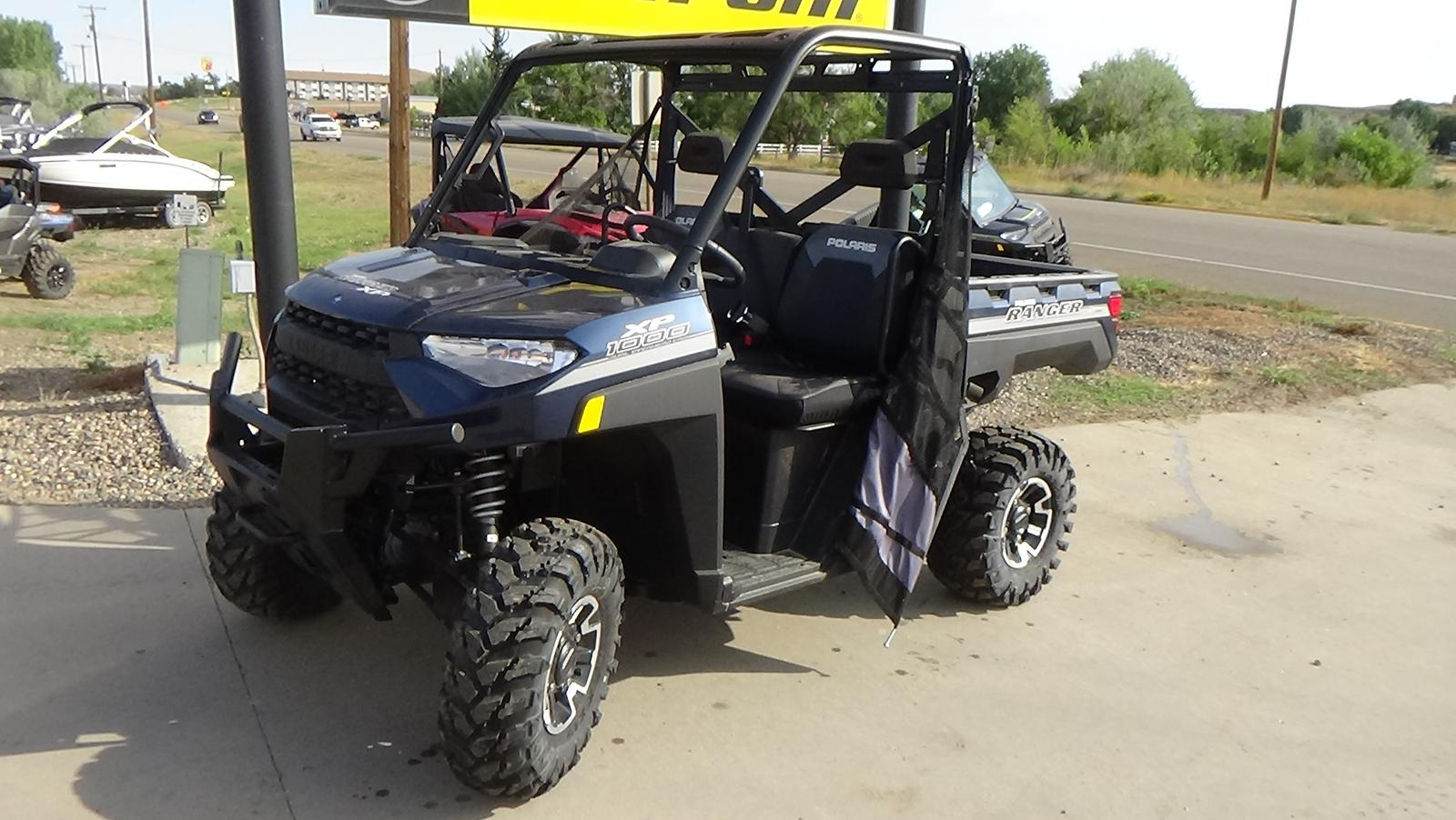 2019 polaris industries ranger xp� 1000 eps premium- steel blue