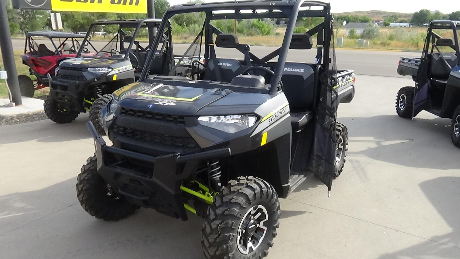 2019 polaris industries ranger xp� 1000 eps premium - magnetic gray