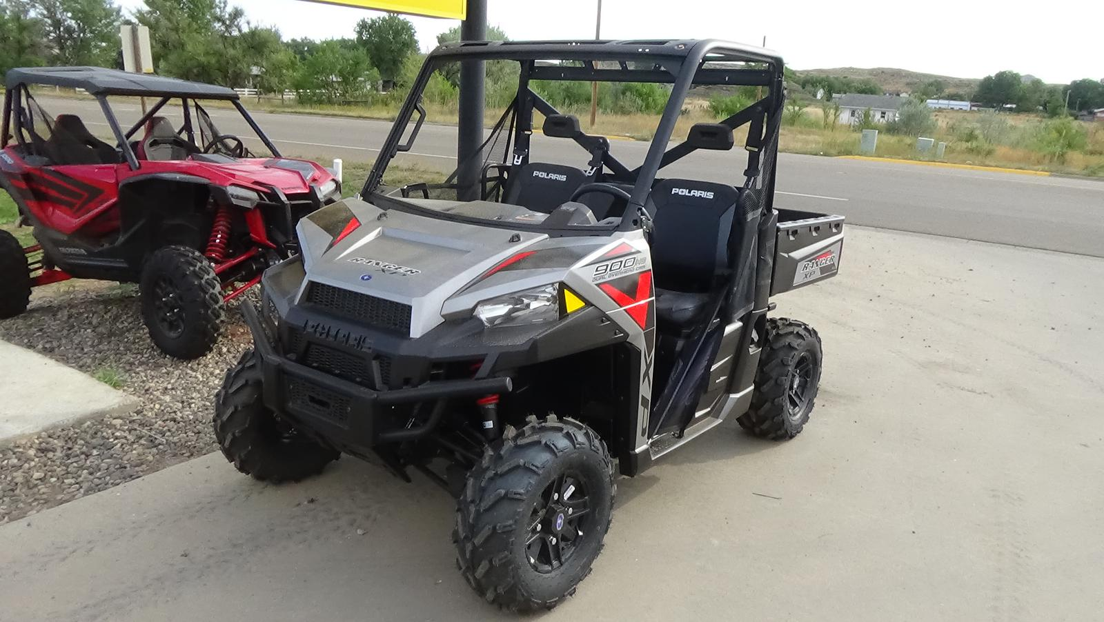 2019 polaris industries ranger xp� 900 eps - silver pearl