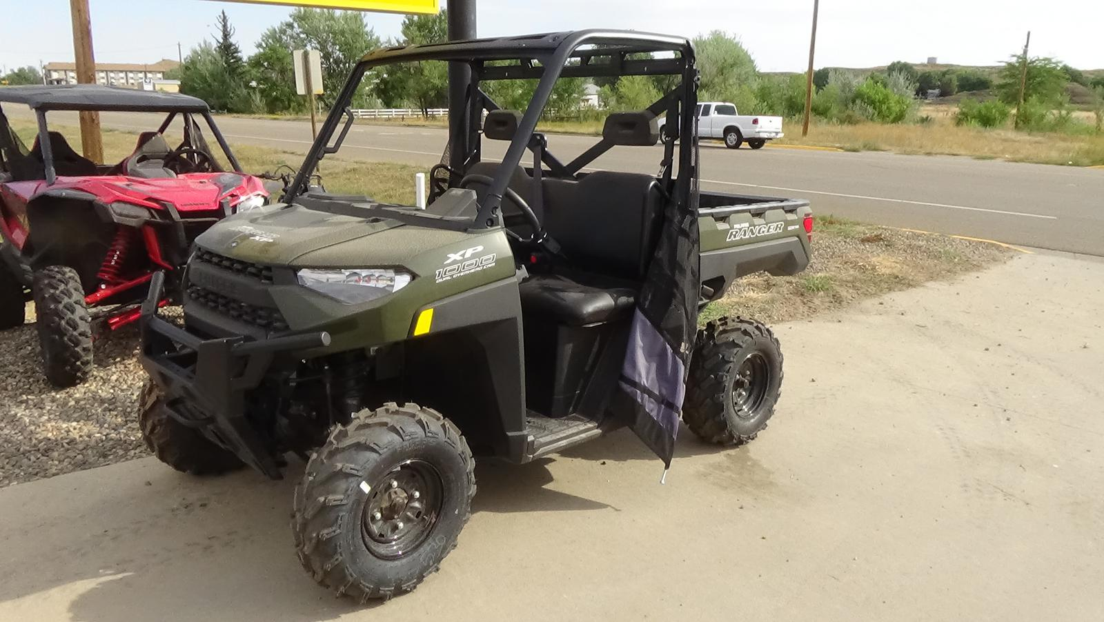 2019 polaris industries ranger xp� 1000 eps - sage green