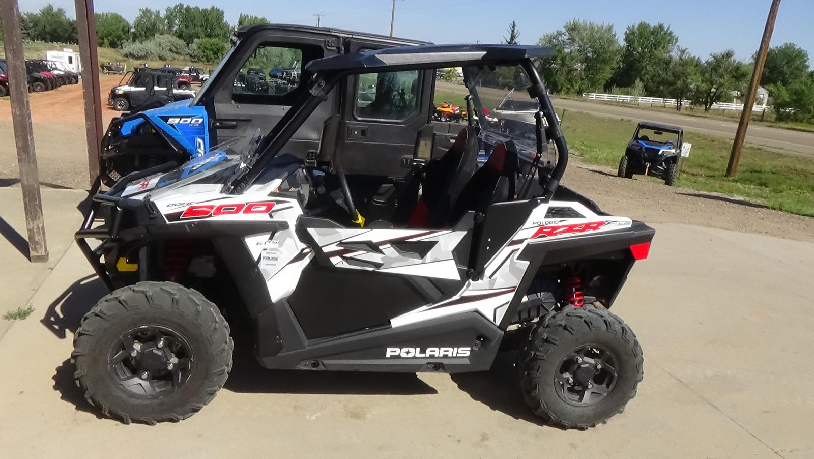 2018 polaris industries rzr� 900 - white lightning