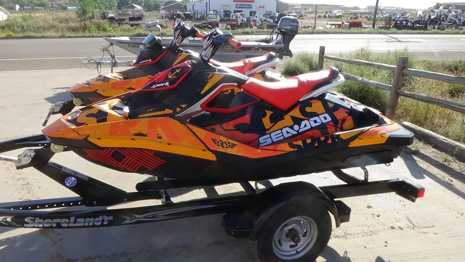 2019 sea-doo spark� 2up rotax� 900 ho ace�