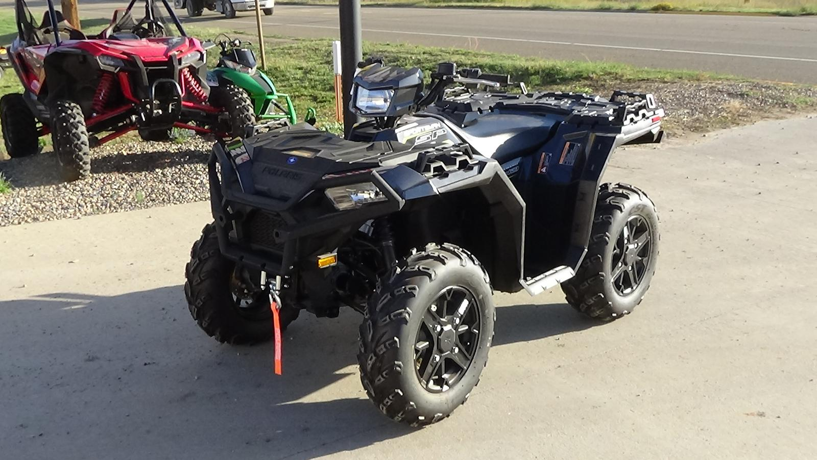 2019 polaris industries sportsman� 850 sp premium - magnetic gray metallic
