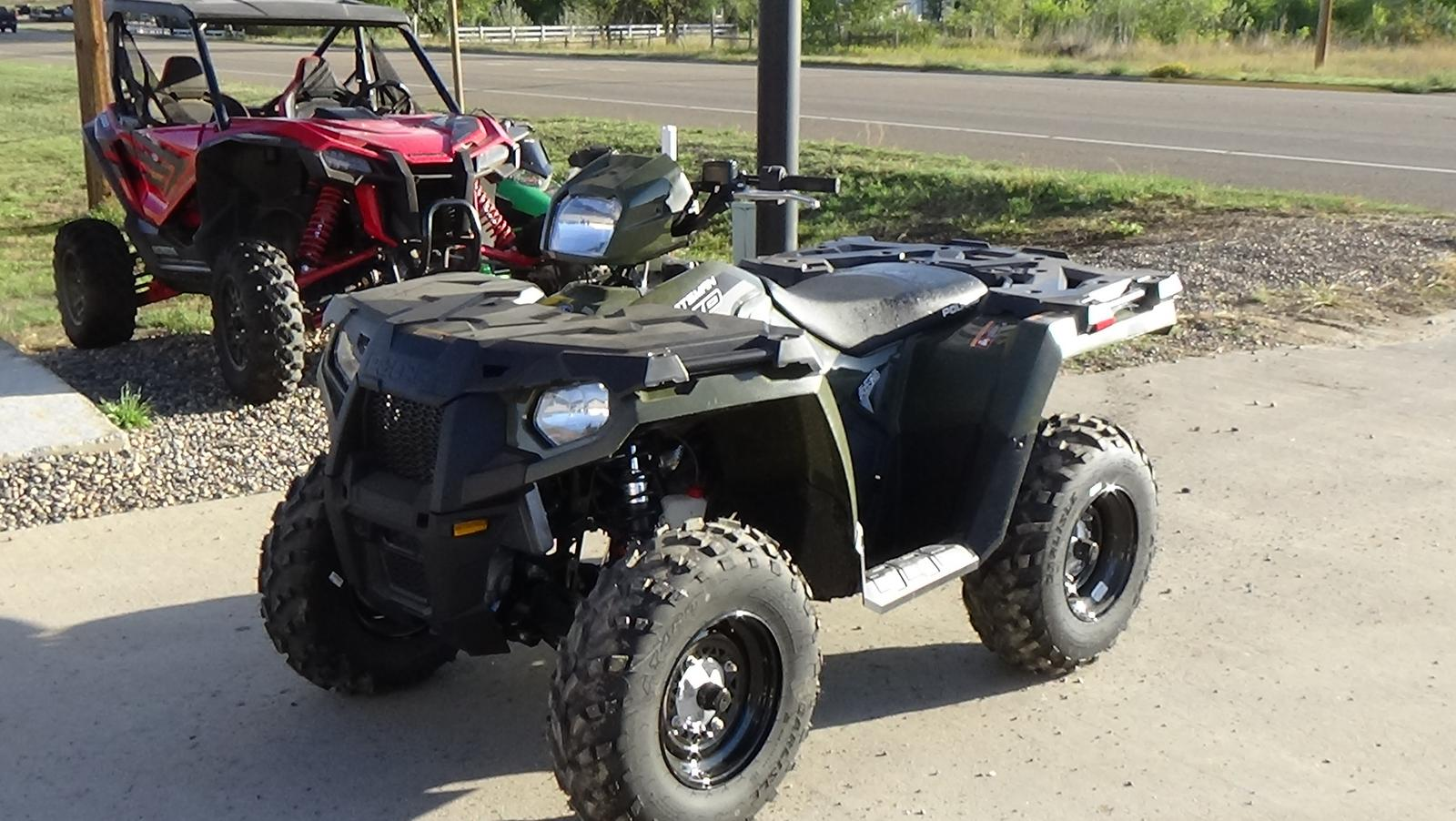 2019 polaris industries sportsman� 570 eps - sage green