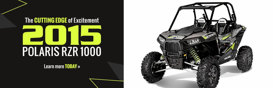 2015 Polaris RZR 1000: Click here to learn more.