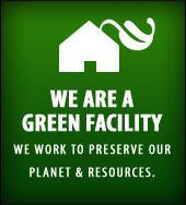 We are a green facility.